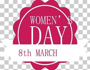 Logo International Womens Day Woman PNG