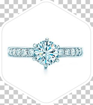 Tiffany & Co. Engagement Ring Diamond Jewellery PNG