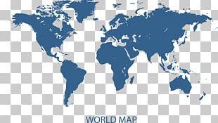 Earth World Map Globe PNG