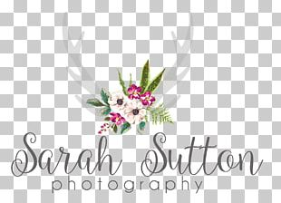 Floral Design Cut Flowers Logo PNG