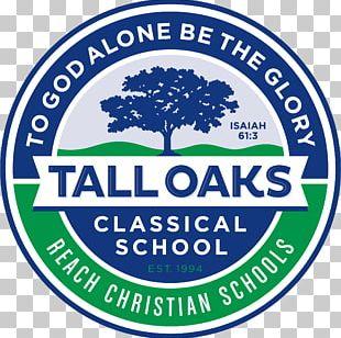 Tall Oaks Classical School Logo Organization PNG
