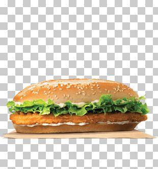 Chicken Sandwich Burger King Specialty Sandwiches TenderCrisp Whopper Hamburger PNG