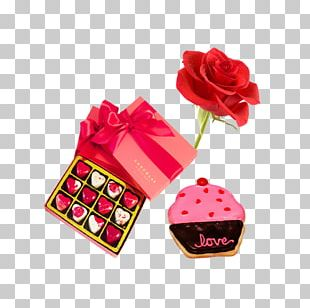 Chocolate Gift Valentines Day PNG