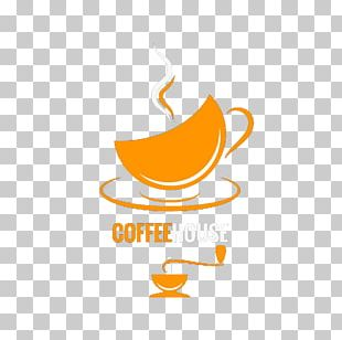 Coffee Cup Cafe Logo PNG