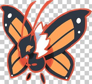 Monarch Butterfly Brush-footed Butterflies Pokémon Ultra Sun And Ultra Moon Insect PNG