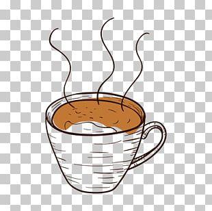 Coffee Cup Cafe Mug PNG