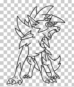 Coloring Book Drawing Pokémon Ultra Sun And Ultra Moon Pokémon Sun And Moon Line Art PNG