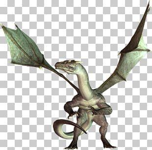 Dragon 3D Computer Graphics Rendering PNG