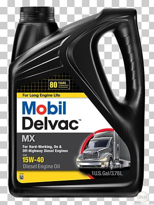 Motor Oil ExxonMobil Mobil Delvac Diesel Fuel PNG