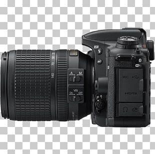 AF-S DX Nikkor 18-140mm F/3.5-5.6G ED VR Nikon D500 Digital SLR Camera Lens PNG