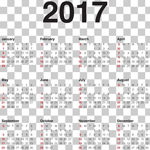 New Year's Day Calendar Holiday PNG