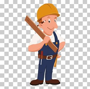 Carpenter Cartoon Laborer PNG