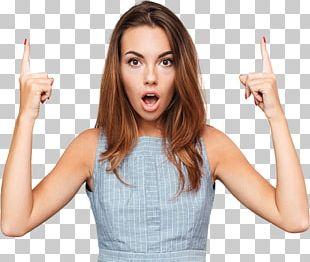 Woman Surprise Emotion PNG