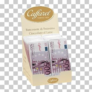 Chocolate Bonbon 500 Euro Note Caffarel Gianduja PNG