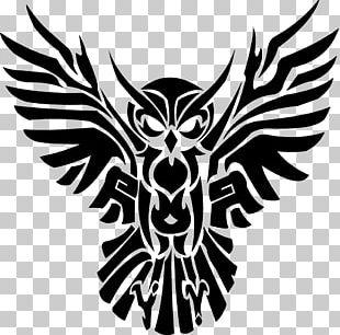 Owl Tattoo Artist Tribal Gear Drawing PNG