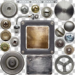 Screw Texture Metal Stock Photography Nut PNG