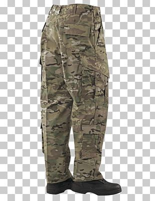 T-shirt MultiCam TRU-SPEC Extended Cold Weather Clothing System Army Combat Uniform PNG
