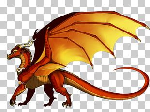 Dragon Wings Of Fire Color Drawing Yellow PNG