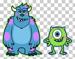 James P. Sullivan Mike Wazowski Monsters PNG