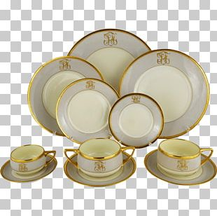 Art Deco Dinner Service PNG