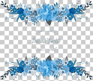Flowers Floral Border PNG