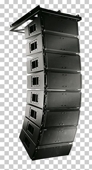 Line Array Loudspeaker QSC Audio Products Sound System PNG