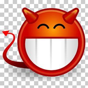 Devil Smiley Emoticon Satan PNG
