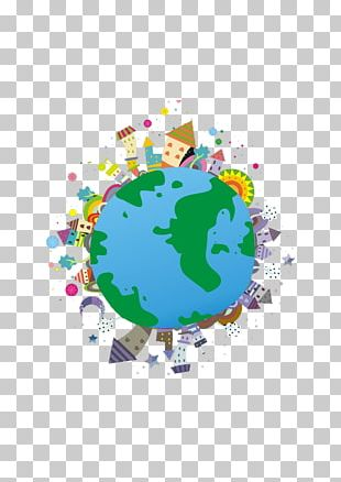 Global Village Cartoon PNG