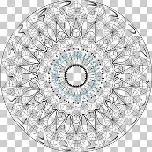 Circle Line Pattern PNG