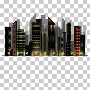 City Night View Architecture City Night Sky PNG