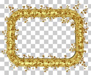 Frames Gold Leaf PNG