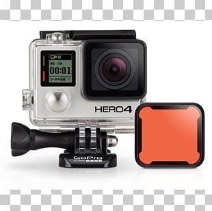 GoPro HERO4 Silver Edition Photographic Filter Camera GoPro HERO4 Black Edition PNG
