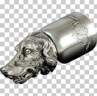 Dog Metal Silver Snout Canidae PNG