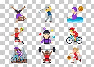 Emoji Sport Volleyball Baseball PNG