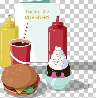 Hamburger Button Fast Food PNG