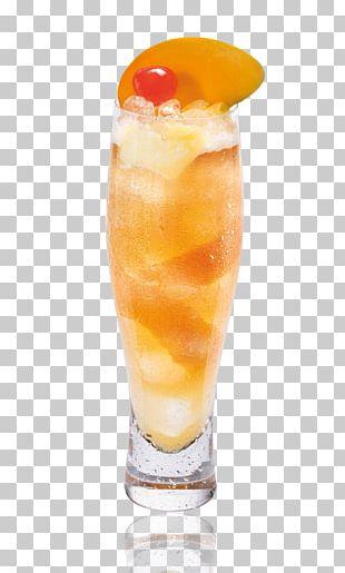 Long Island Iced Tea Orange Drink Cocktail Harvey Wallbanger PNG