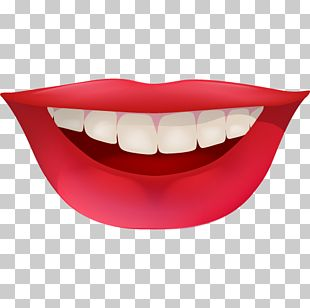 Smile Human Tooth Lip Icon PNG