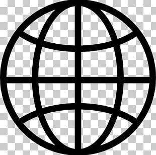 Globe Earth Pictogram Symbol PNG