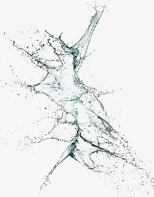 Splash Of Water Droplets PNG