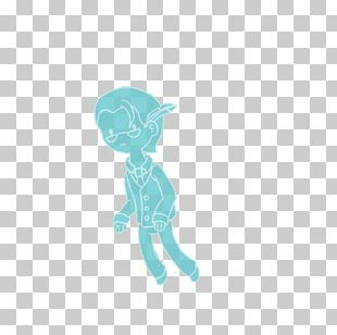 Turquoise Blue Teal Elephant Animal PNG