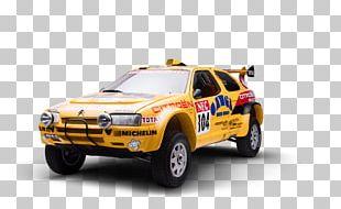 World Rally Car Citroën ZX Dakar Rally Raid PNG