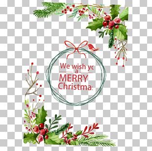 Christmas Card Christmas Decoration Christmas Tree PNG