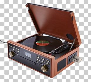 Big Ben Turntable Compact Disc Phonograph Record Cassette Deck PNG