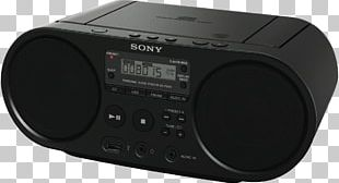 CD Player Compact Disc Radio Sony Boombox PNG