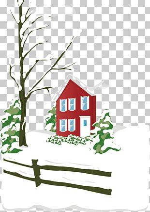 Cartoon Winter Snow PNG