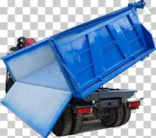 Hydraulics Dump Truck Semi-trailer Vehicle Skip PNG