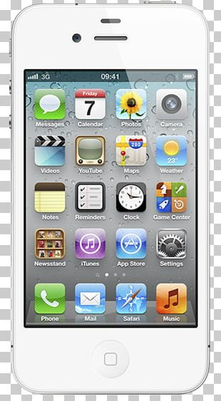 IPhone 4S Apple GSM Smartphone PNG