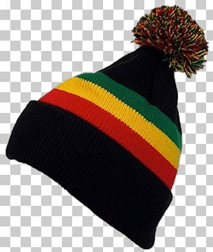 Rasta Winter Hat PNG