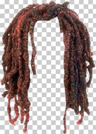 Dreadlocks Wig Hairstyle PNG