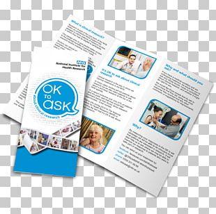 Flyer Printing Folded Leaflet Standard Paper Size Brochure PNG